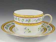 Limoges France Cerelene Raynaud MORNING GLORY SPRAY CUP AND SAUCER /11 Available