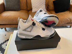 Nike Air Jordan White Cement Retro 4 IV G SHIPPING NOW Golf Shoes CU9981-100 new
