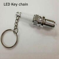 outils de voiture le métal led la chaîne porte - clés bougie porte - clés