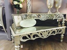 Mirror Console Table with Silver Trim - New Range!