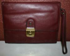 Gold Pfeil Redish, Brown, Leather Handbag  - ss