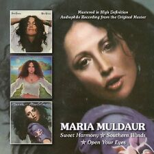 Maria Muldaur-Sweet Harmony/Southern Winds/Open Your Eyes DOPPIO CD NUOVO