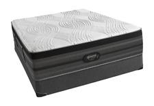 Simmons Beautyrest Black Hybrid Clermont Ultra Plush Pillow Top Mattress Queen