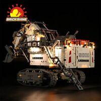 LED Light Kit for Lego Liebherr R 9800 Excavator 42100 (100% Rating Seller)