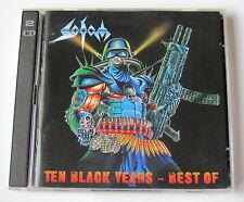 SODOM ......... TEN BLACK YEARS - BEST OF .......  2 CD