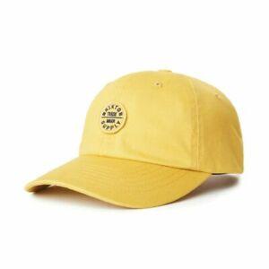 BRIXTON OATH LP STRAPBACK CAP SUNSET YELLOW