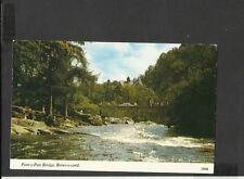 Harvey Barton Colour Postcard Pont-y-Bridge Betw-y-coed Conway Wales (2BBB)