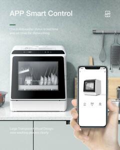 BlitzWolf Smart Arbeitsplatte Geschirrspüler Dual Water Inlet 5 Reinigungsmodi