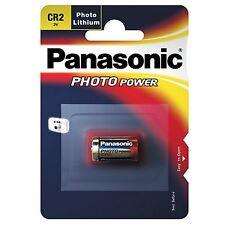 Lote 10 Pilas a Litio CR2 3V Panasonic en Blíster (Especiales Fotos)