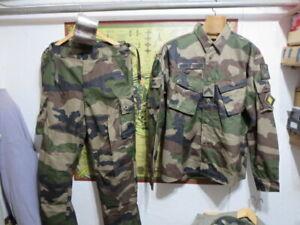 Légion étrangère-3º REI-ensemble tenue foret equatoriale/ taille M-L/gamelle
