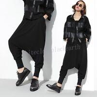 New Womens Autumn Hip-hop Harem Loose Trousers Casual Harem Collapse Baggy Pants