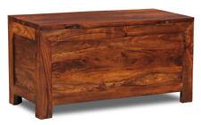Bedroom Furniture Sheesham Cuba Blanket Trunk (cb6w)
