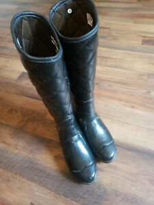 Hunter Wellies Size 5 black