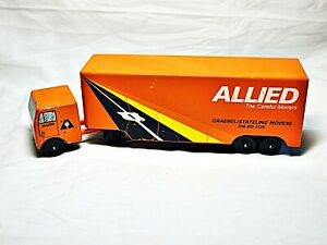 Vintage Ralstoy Allied Tractor Trailer and Semi Diecast HTF