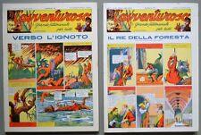 L'AVVENTUROSO, annata 1937. Settimanale d'avventura. Anastatica, Nerbini, 1976