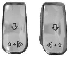 Bagger-Werx Turn Signal Switch Extension Caps Chrome 01-904