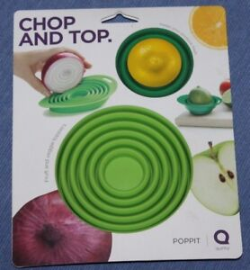 New   CHOP N TOP   Reusable    Fruit   and   Veggie  Toppers