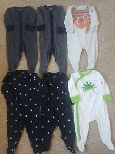Next Baby Boys Babygrows  Bundle 3-6 Months