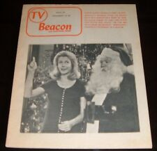 Regional New York Tv Guide~BEWITCHED~CHRISTMAS Episode~Liz Montgomery~Rare