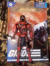 G. I. Joe Classified Hasbro 6 inch Red Ninja Action Figure