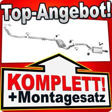 Auspuff AUDI A4 (B6) 2.0 130PS Stufenheck / Kombi Avant +Rohr Auspuffanlage 841