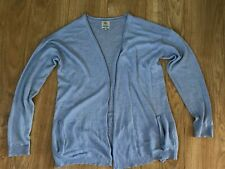 RIVER ISLAND BLUE CARDIGAN UK 16 / 42 EUR
