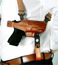 Shoulder Holster fits, Double Mag Case Beretta Storm PX4 Full Size 4''BBL #1003#