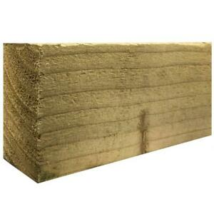 """3"""" x 2"""" Treated Timber Lengths Wooden Batons Various 3.0m Fencing Rails Treated"""