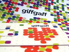 GiffGaff 3-in-1 SIM card (Trio) Reg, Micro, Nano. PAYG For giff gaff.  £5 free!