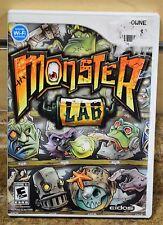 Monster Lab (Nintendo Wii, 2008) Complete w/ Manual Free Shipping