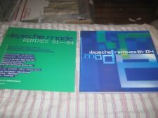 DEPECHE MODE-REMIXES-1 POSTER FLAT-2 SIDED-12X12 INCHES-NMINT!!!!