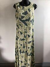 Tommy Bahama Womens 8 Rayon Maxi Dress Floral Sleeveless Sundress