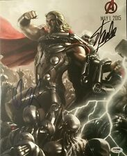 Chris Hemsworth Thor Stan Lee Mr Marvel Doppelt Unterzeichnet