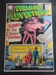 "STRANGE ADVENTURES #167 | 8.0+ VF | ""GORKO THE NIGHT CREATURE"" DC COMICS HORROR"