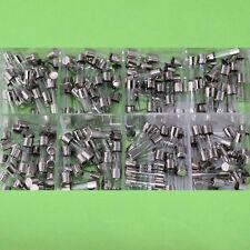 160 Feinsicherungen Sortiment + Aufbewahrungsbox - Glassicherung Set flink(207