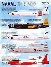 Iliad Decals 1/72 NAVAL T-BIRDS LOCKHEED TV-2 & T-33