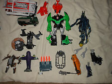 Transformers figures lot for parts