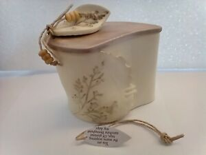 Natures Poetry Leaf Covered Box by Kim Lawrence ,beautiful gift.
