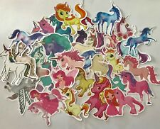 Lot of 10 Girls Horse/Pony Stickers Decals loot bag diary school party luggage