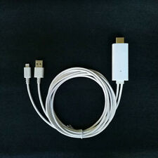 2M MHL to HDMI Converter Cable Adapter Lightning iPhone 5/6/7 to HD TV