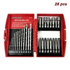 - TZ-29958-Z02 5 Pc Pack of: 2 Masonry Drill Bit Set