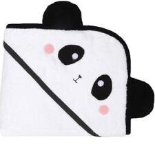 Kids Baby Cotton Panda Animal Hooded Shower Bath Towel Soft Absorbent