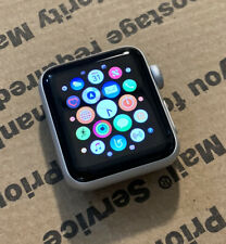 Apple Watch Series 3 Nike+ 38mm GPS Silver Aluminum Case *Watch Only* Tested
