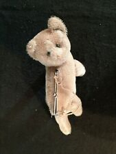 Vintage RARE Stieff Cat Teddy Bear Change Purse Hand Bag