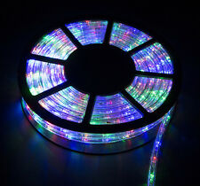50FT LED Rope Light Home In/Outdoor Christmas Decorative Party Multi-color 110V