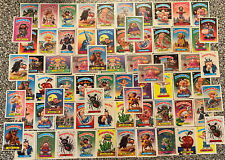 Over 70 Vintage Garbage Pail Kids Trading Cards