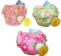 LOT OF 3 NEW I Play Washable Swim Swimming Diapers 2T 2 25-30lbs UPF 50+