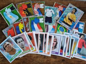 36x Merlin England World Cup 2006 Football Stickers New Mint Numerous Foils