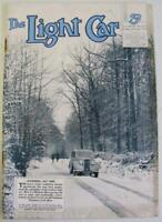 The Light Car 21 Feb 1936 Motoring Magazine Modern MG German Motor Show