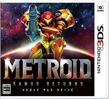 NEW Nintendo 3DS Metroid Sams Returns Action Video Game Japanese ver. from Japan